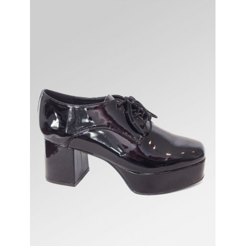 Platform Shoes - Black