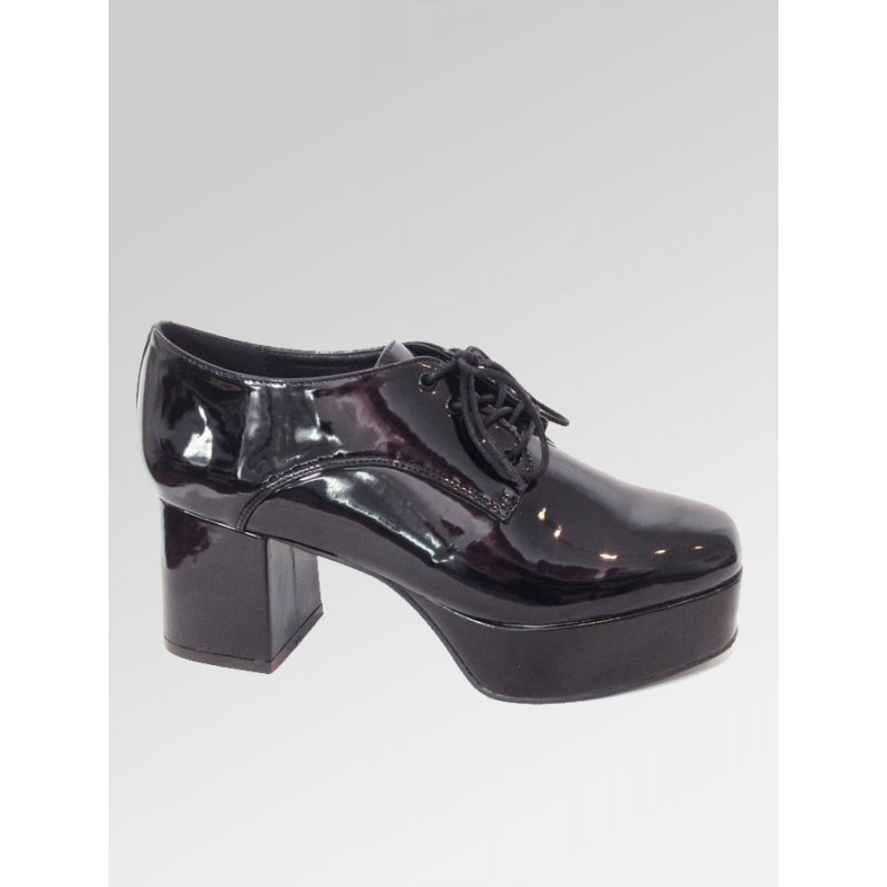 Platform Shoes - Black