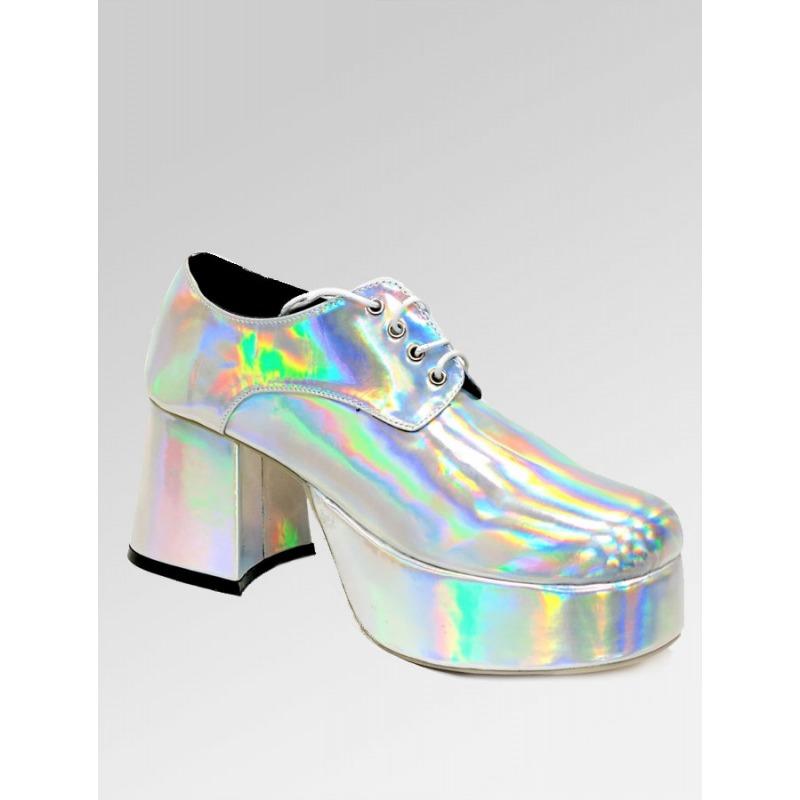 Platform Shoes - Silver