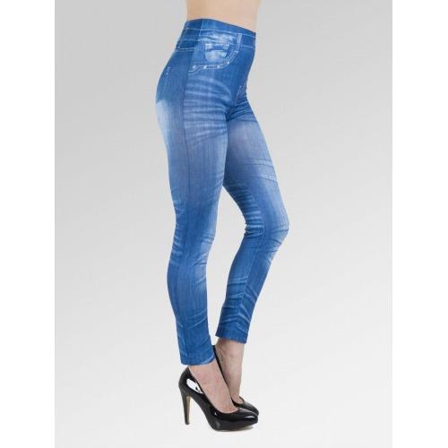 Plain Jean Effect Leggings