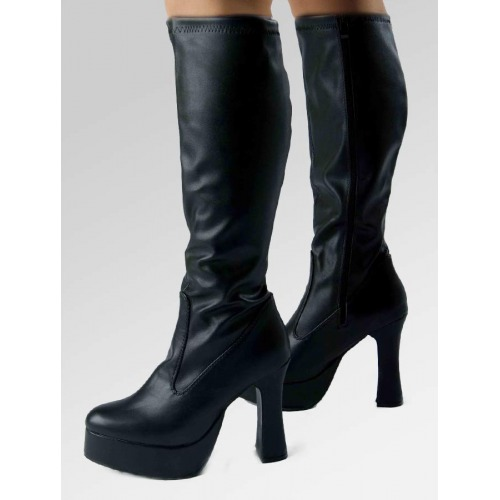 Platform Boots - Black Matt