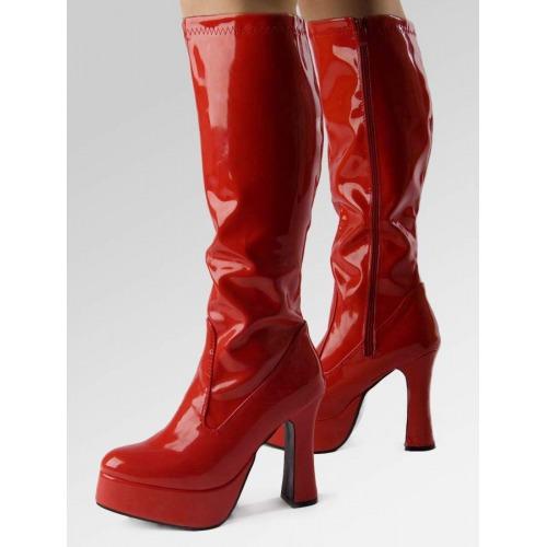 Platform Boots - Red