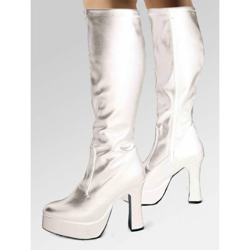 Platform Boots - Silver