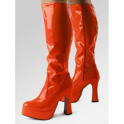 Platform Boots - Orange