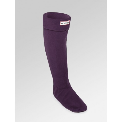 Boot Socks - Plum