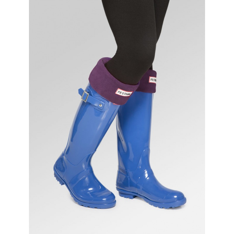 Boot Socks - Plum