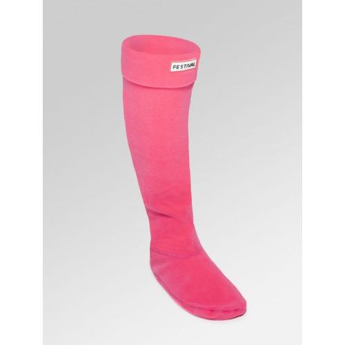 Boot Socks - Pink