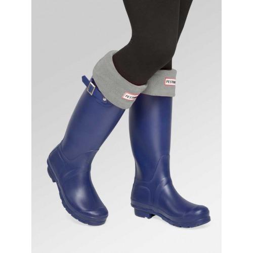 Navy Wellies + Boot Socks Combo Deal