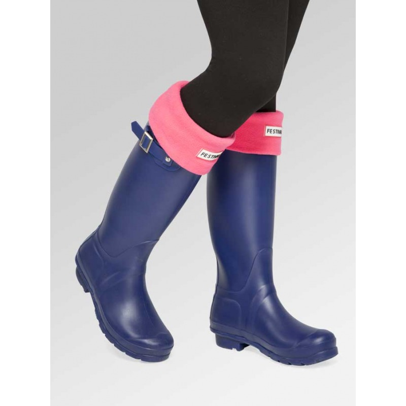 Navy Wellies + Boot Socks Combo Deal