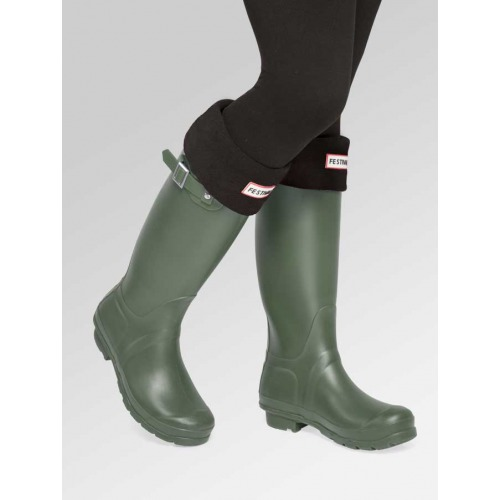 Green Wellies + Boot Socks Combo Deal