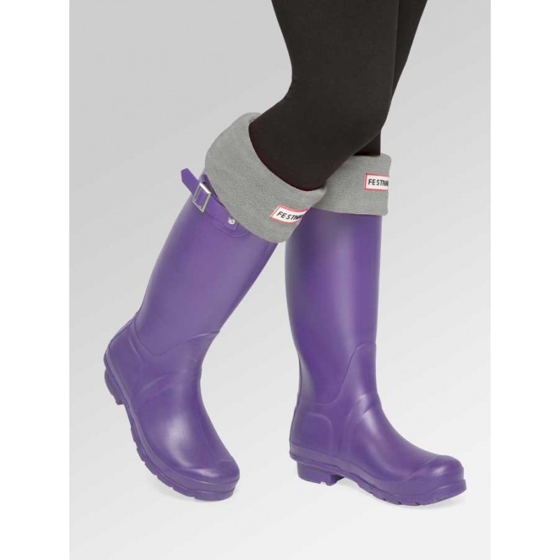 Purple + Boot Socks Combo Deal
