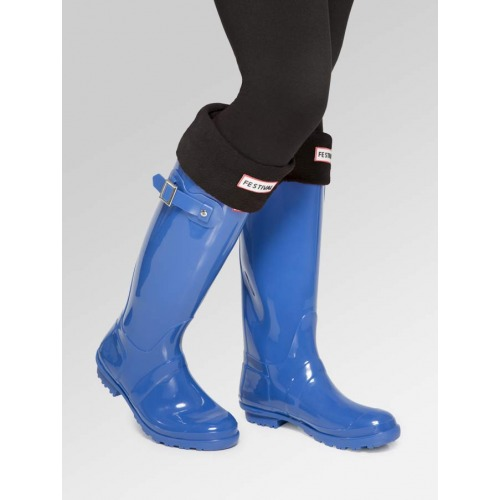 Blue Wellies + Boot Socks Combo Deal