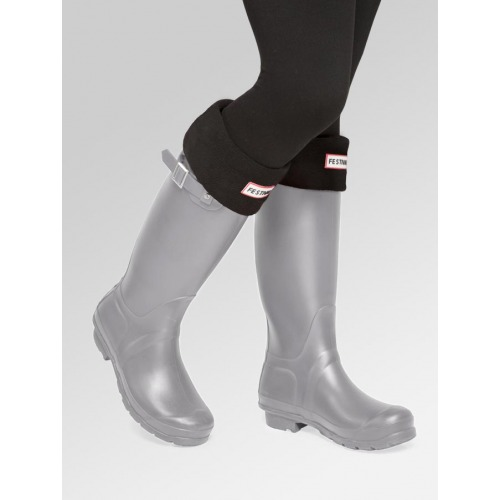 Grey Wellies + Boot Socks Combo Deal