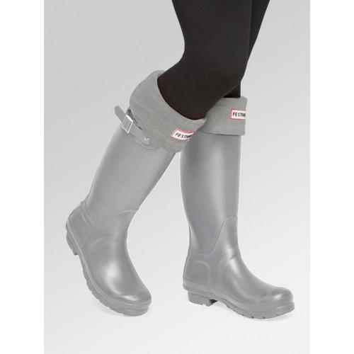 Grey + Boot Socks Combo Deal