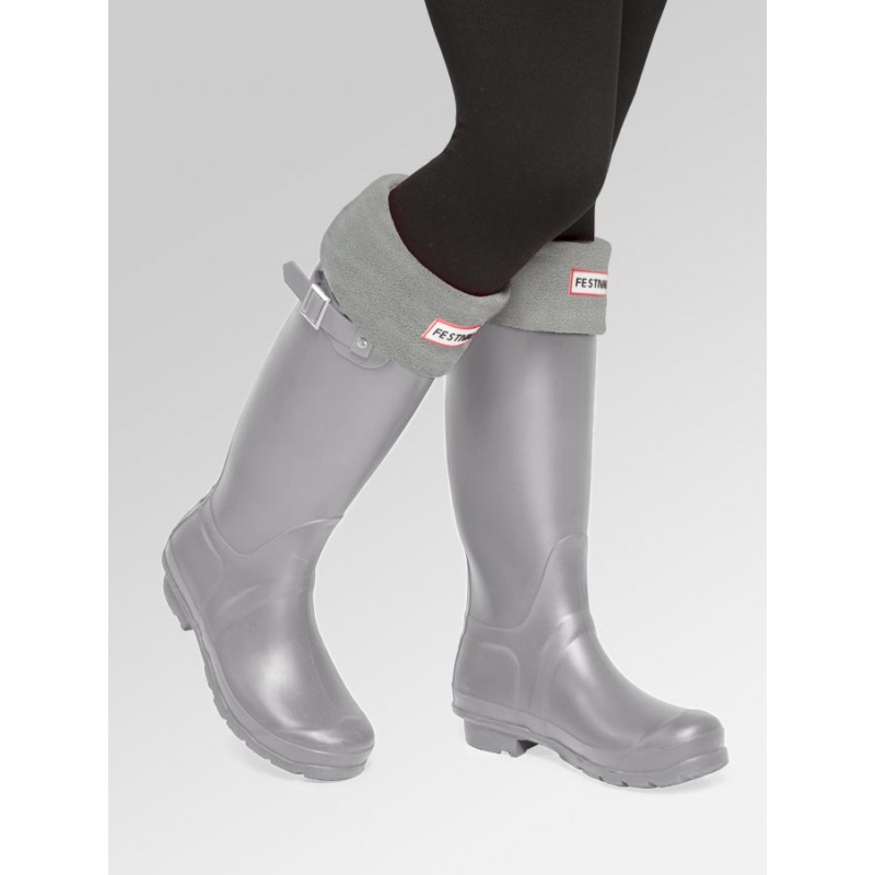 Grey + Boot Socks Combo Deal