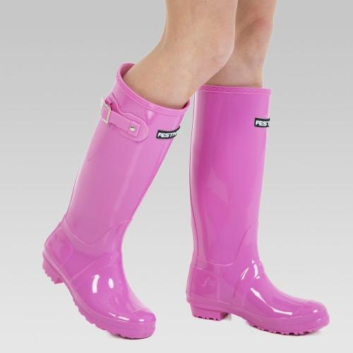Festival Wellington Boots - Pink