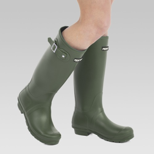 Festival Wellington Boots - Green