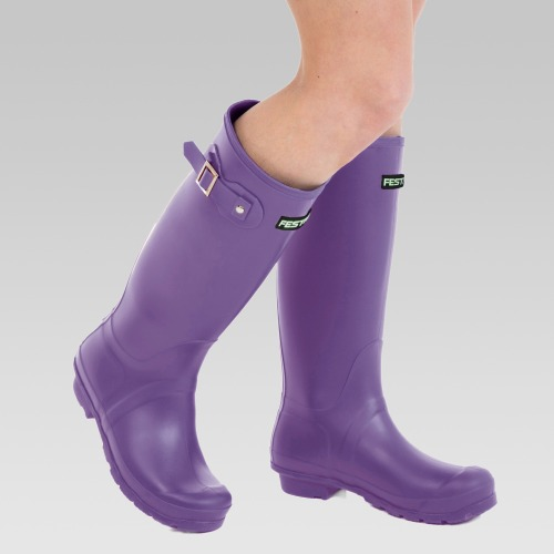 Festival Wellington Boots - Purple