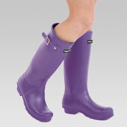 Festival Wellington Boots - Purple