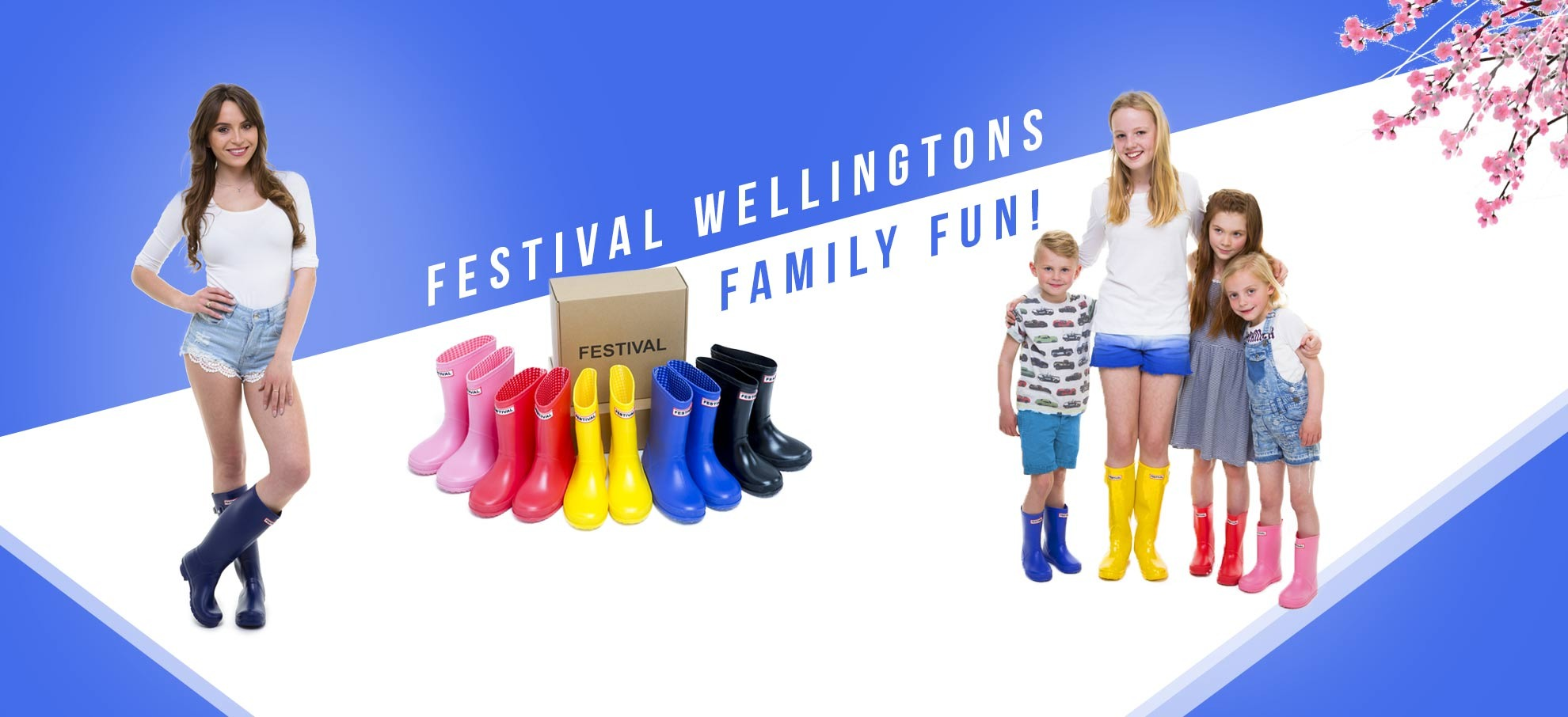 Kids Wellingtons from Festival