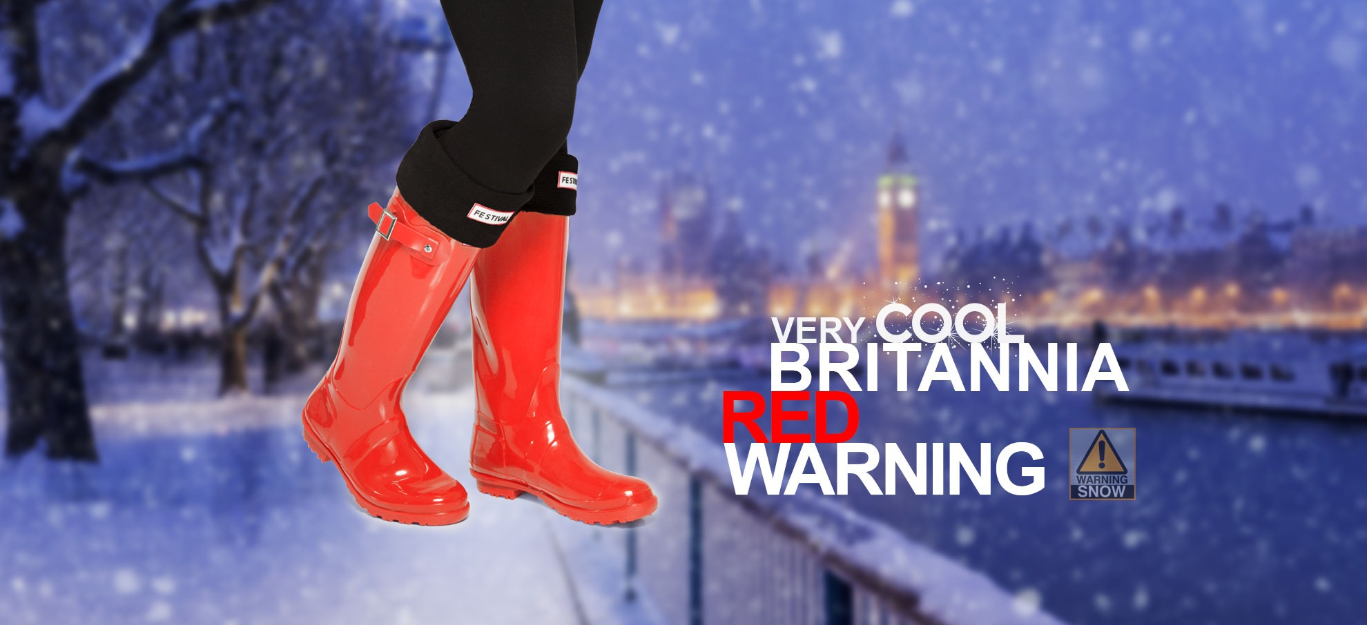 RED WEATHER SNOW WARNING FOR UK