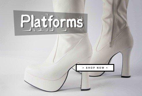 Party Platform Boots.