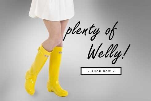 Plenty of Wellingtons!